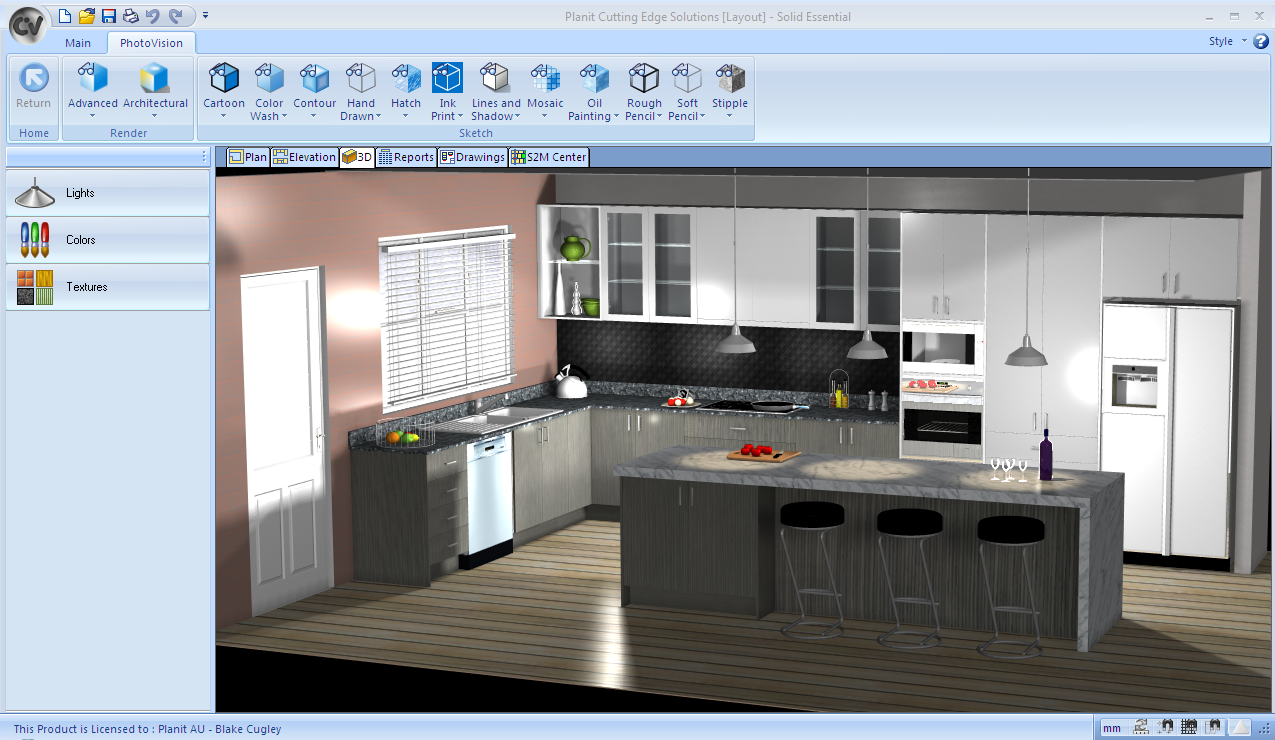 planit kitchen design software