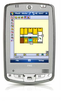 Jobsite Companion PDA measurement and layout tool