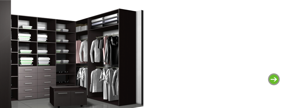 Cabinet Vision for Wardrobes
