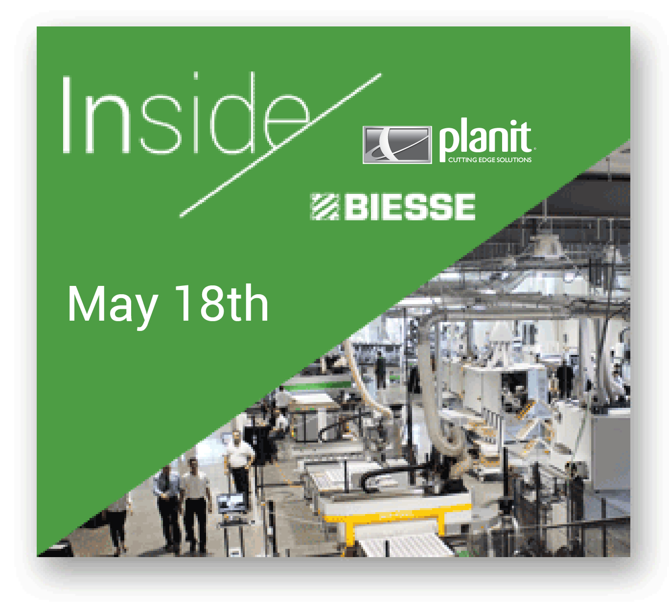 Planit partnering at Biesse Inside SA