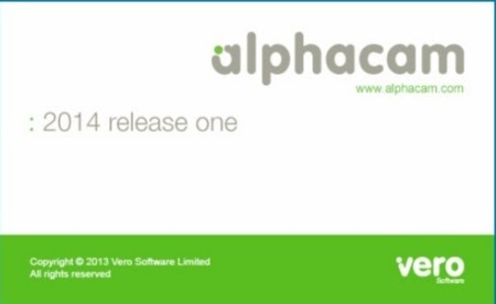 Alphacam 2014 R1 Splash Screen