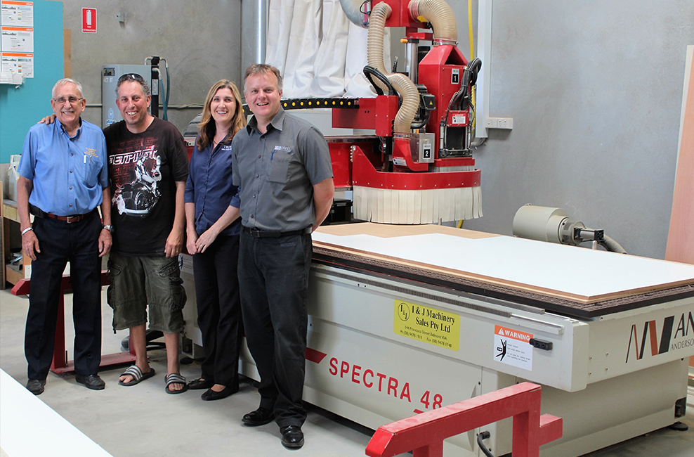 Trufix Cabinetmaking is a growing business who are embracing the latest technology.