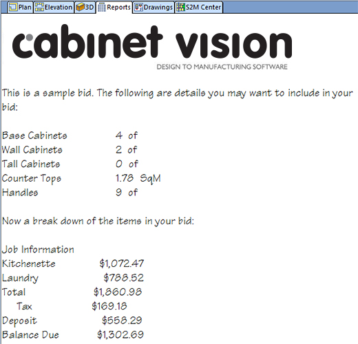 Cabinet Vision The Software Solution For Cabinet Joinery - Cabinet estimating software