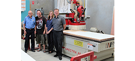 Trufix Cabinetmaking embraces CNC manufacturing